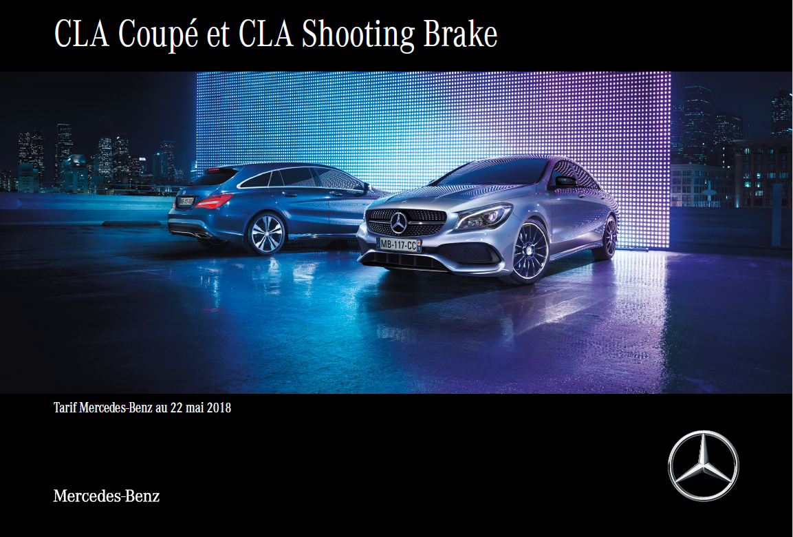 CLA Coupé et Shooting Brake
