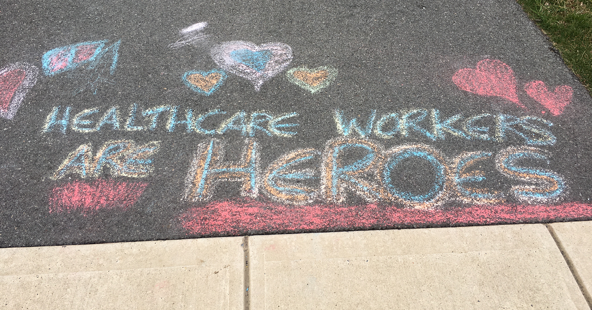 Healthcare Workers Are Heroes