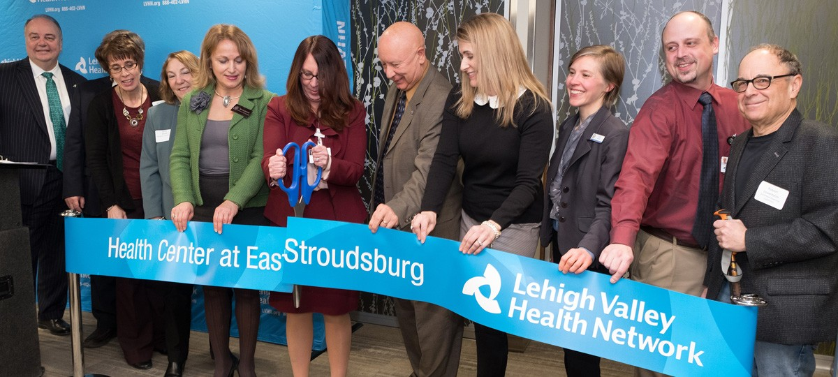 Health Center at East Stroudburg Ribbon Cutting