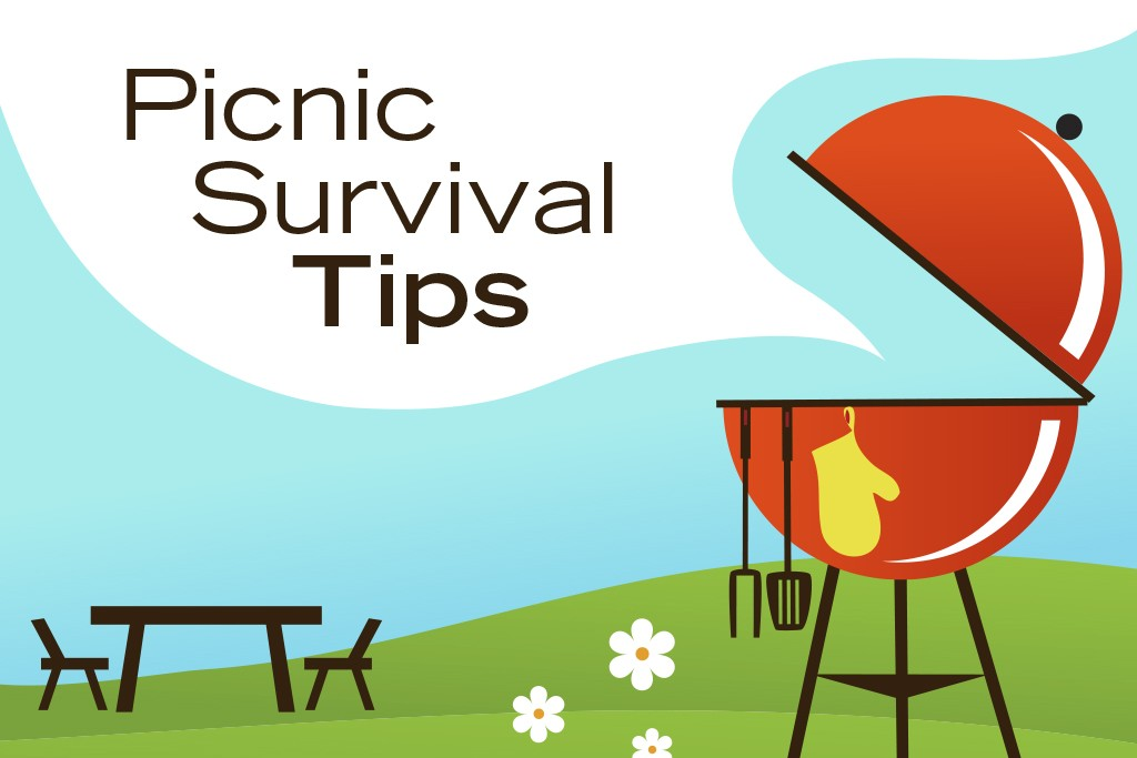 use these 8 picnic survival tips to stay healthy at your next cookout