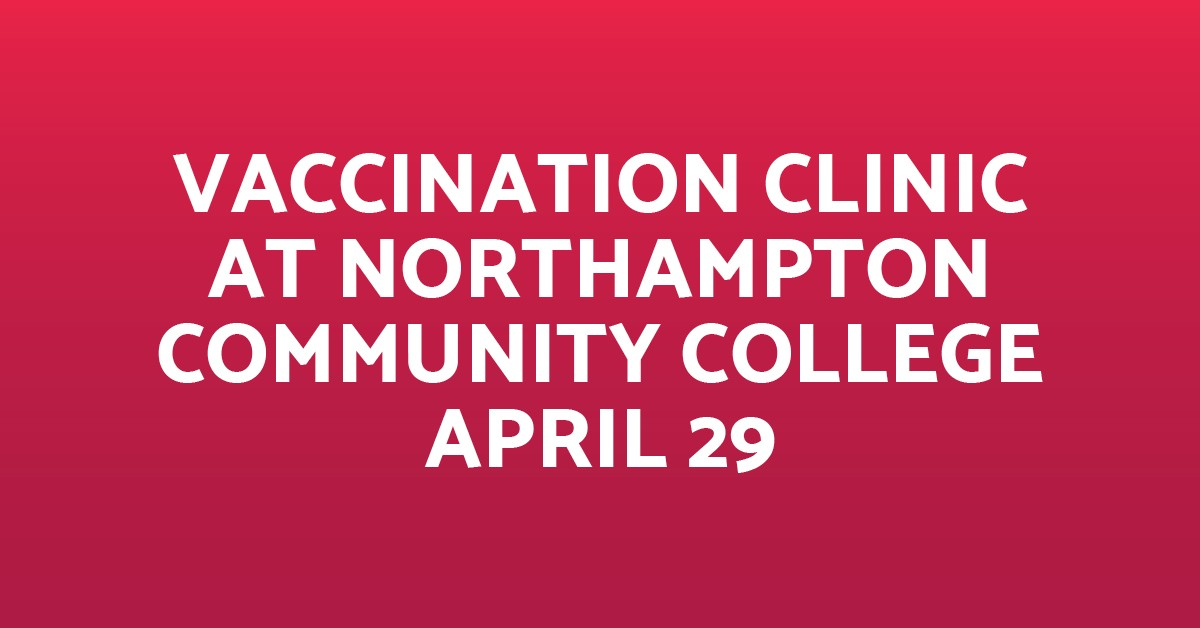 Vaccination Clinic-Norco April 29 Blog