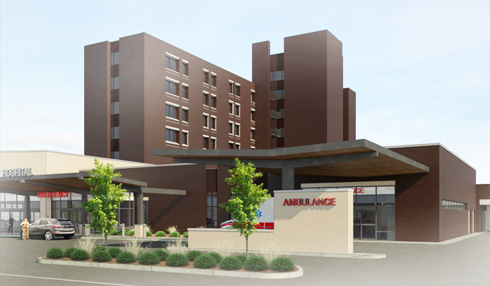 Blog-Lehigh Valley Hospital-Hazleton Exterior ER2