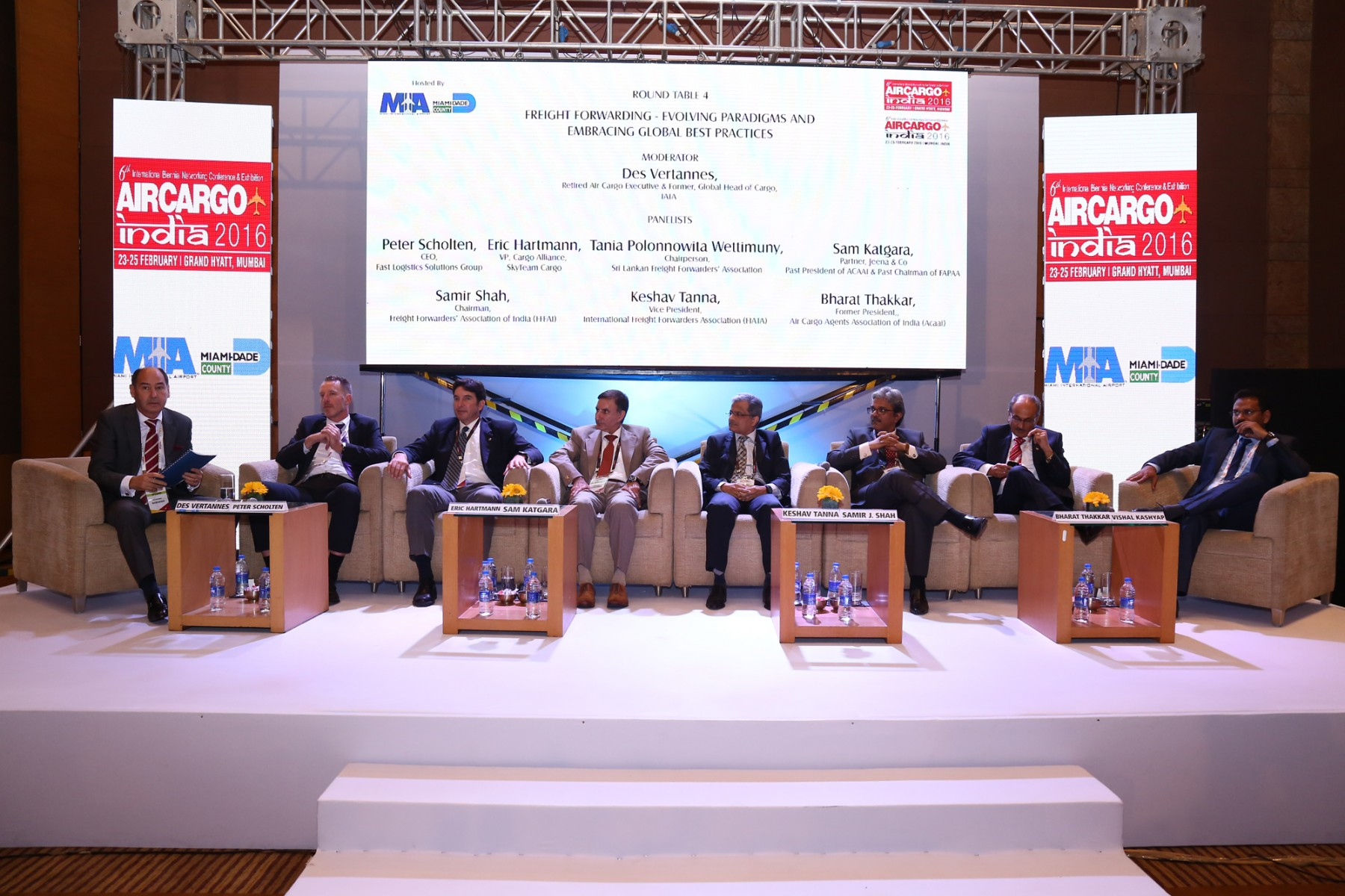 Air Cargo India 2016 roundtable