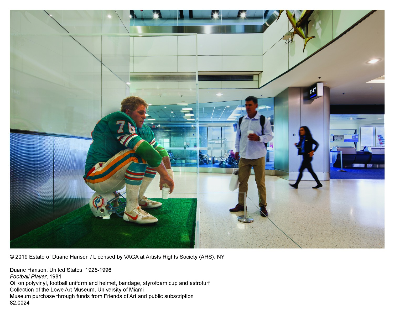 Duane Hanson Football Player Image with caption text 2
