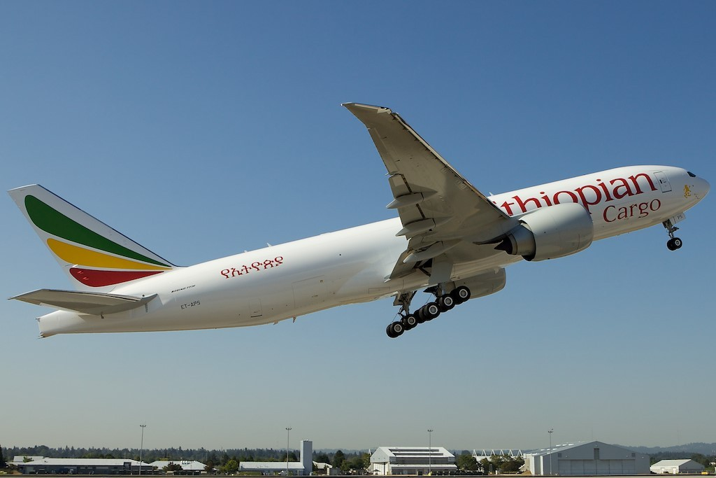 Ethiopian Airlines launches historic cargo route at MIA