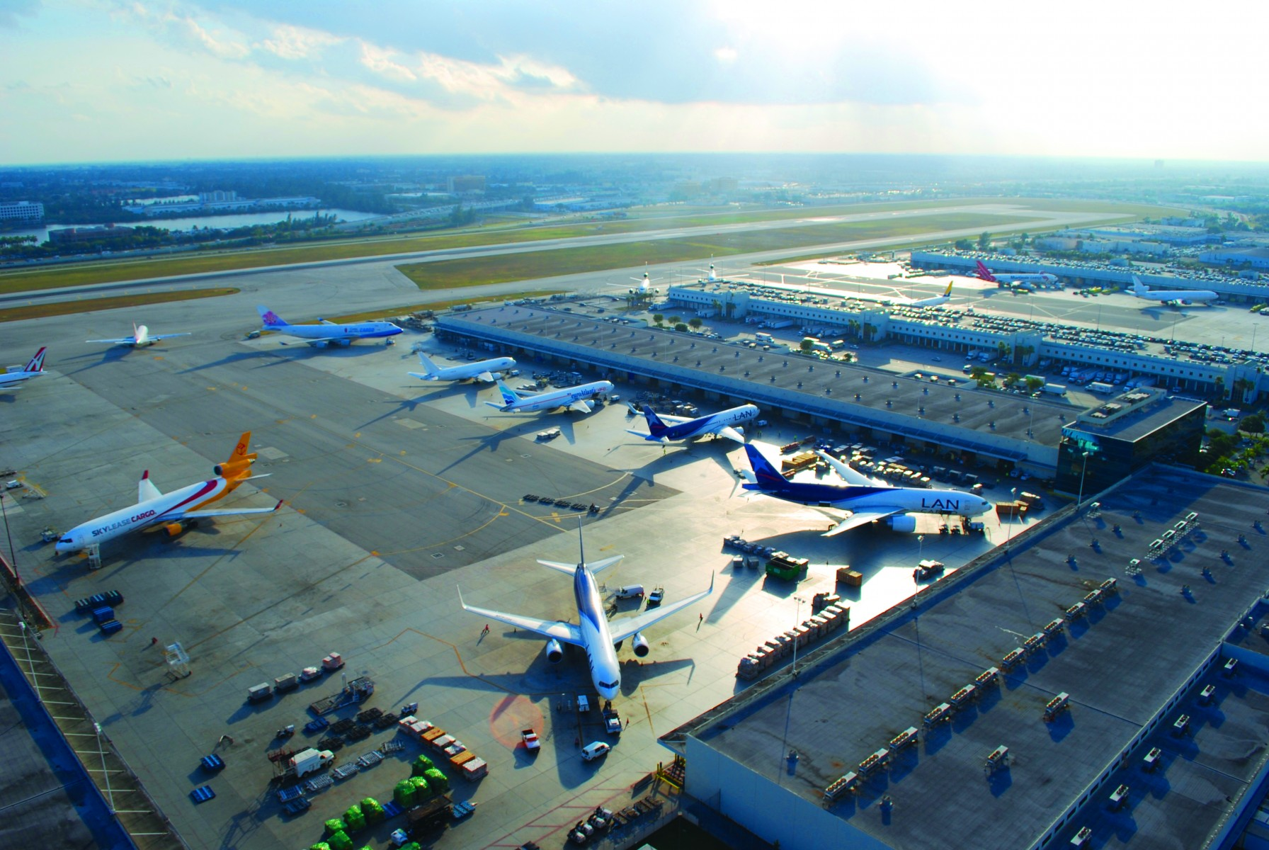 """mia named """"best freighter hub"""" in the world"""