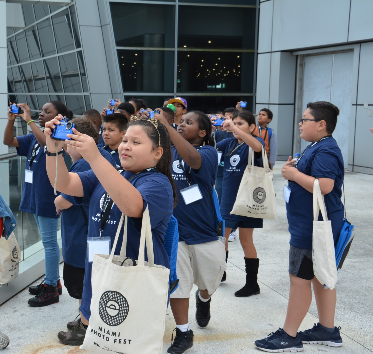Debate Continues On Shooting Drills With Students: MIA, Miami Photo Fest Treat Elementary Students To Photo Shoot