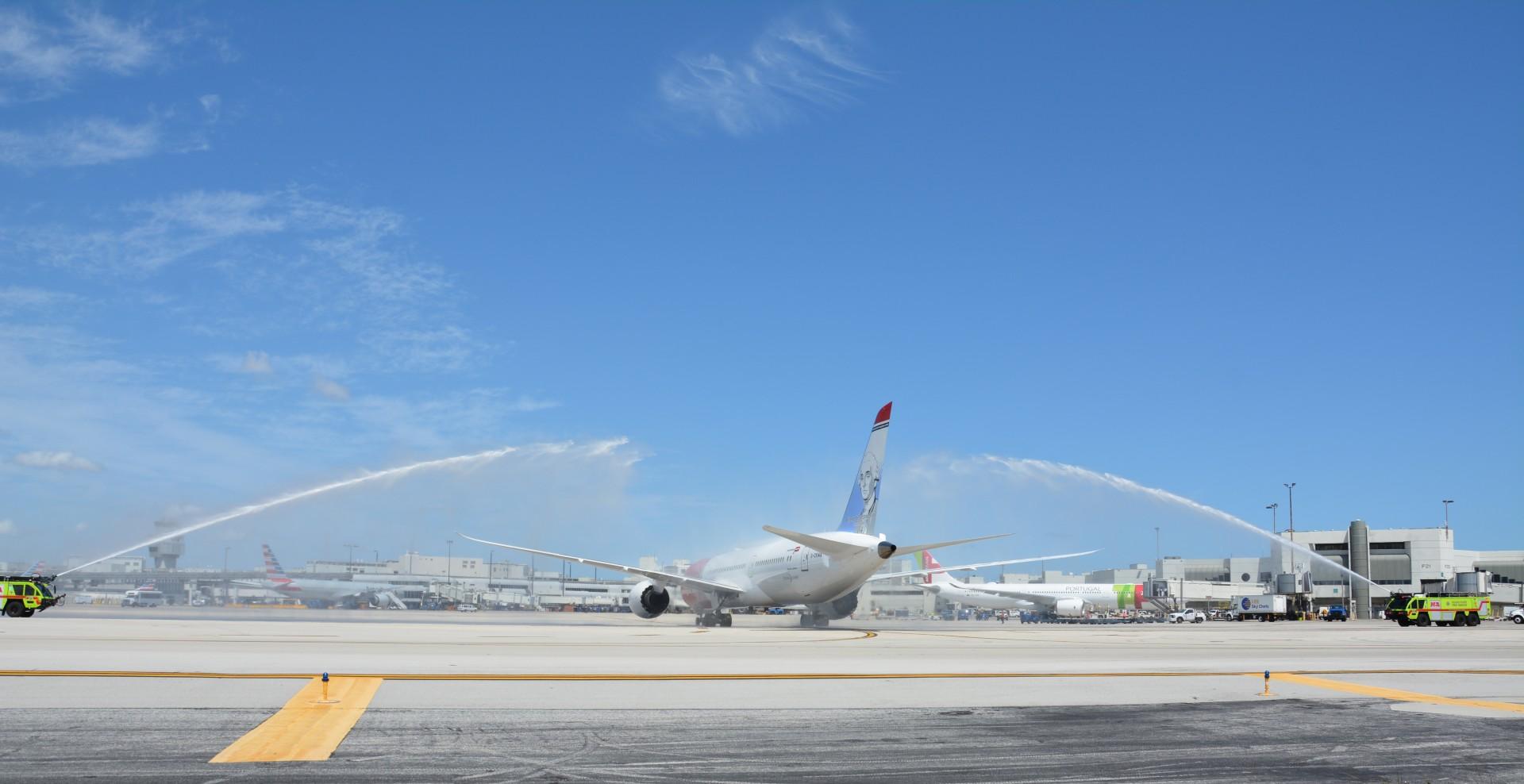 mia welcomes norwegian's inaugural miami arrival
