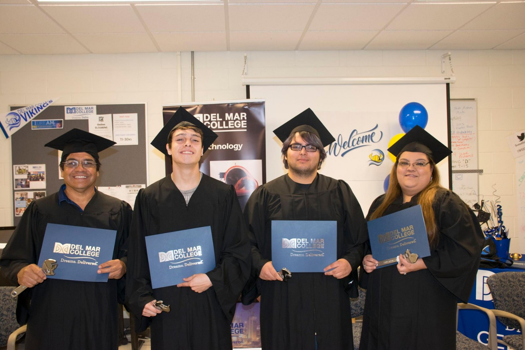 Alice Off-Campus Process Technology Graduation