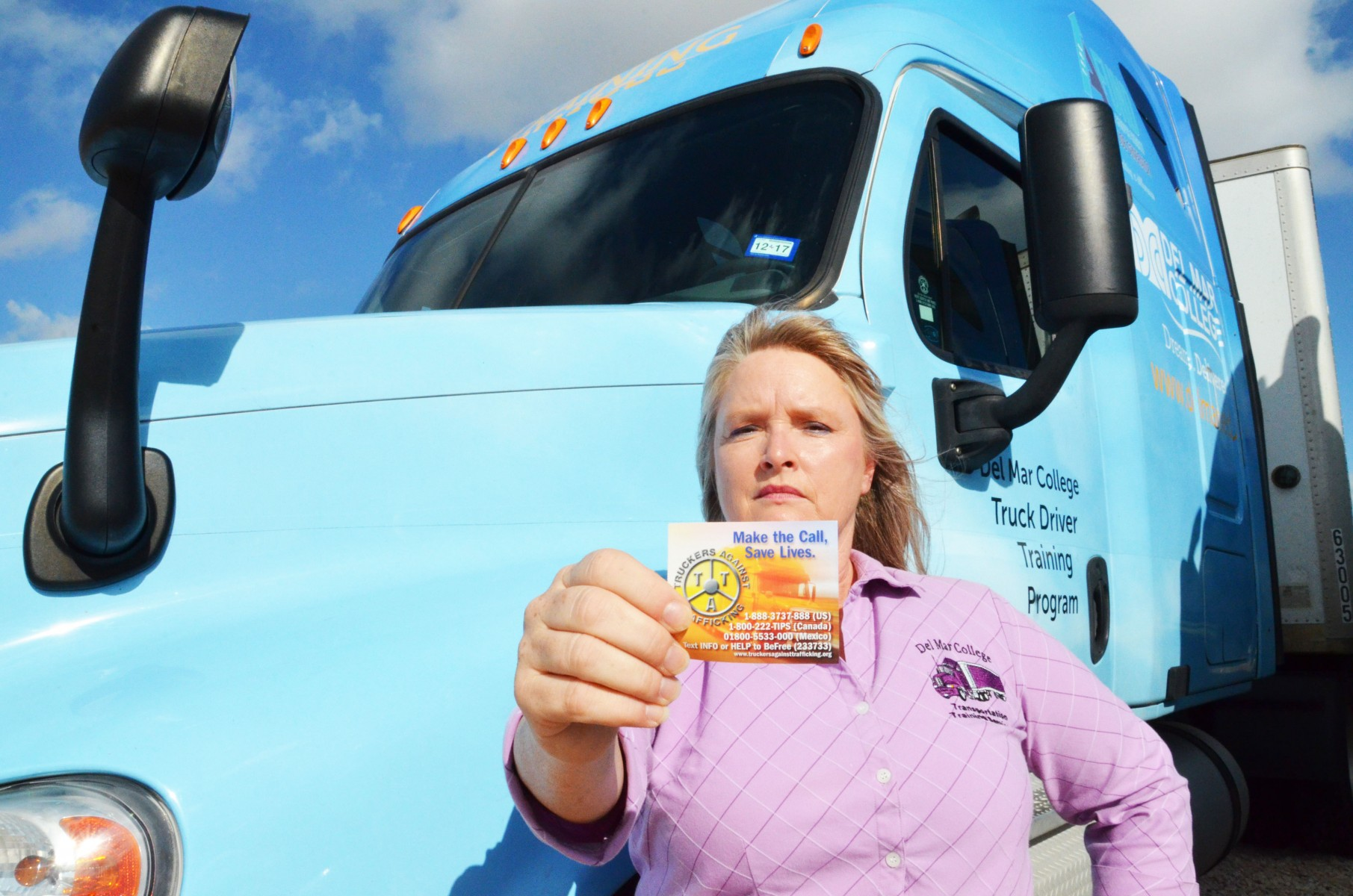 Trucking Instructor Lynette Cervantes