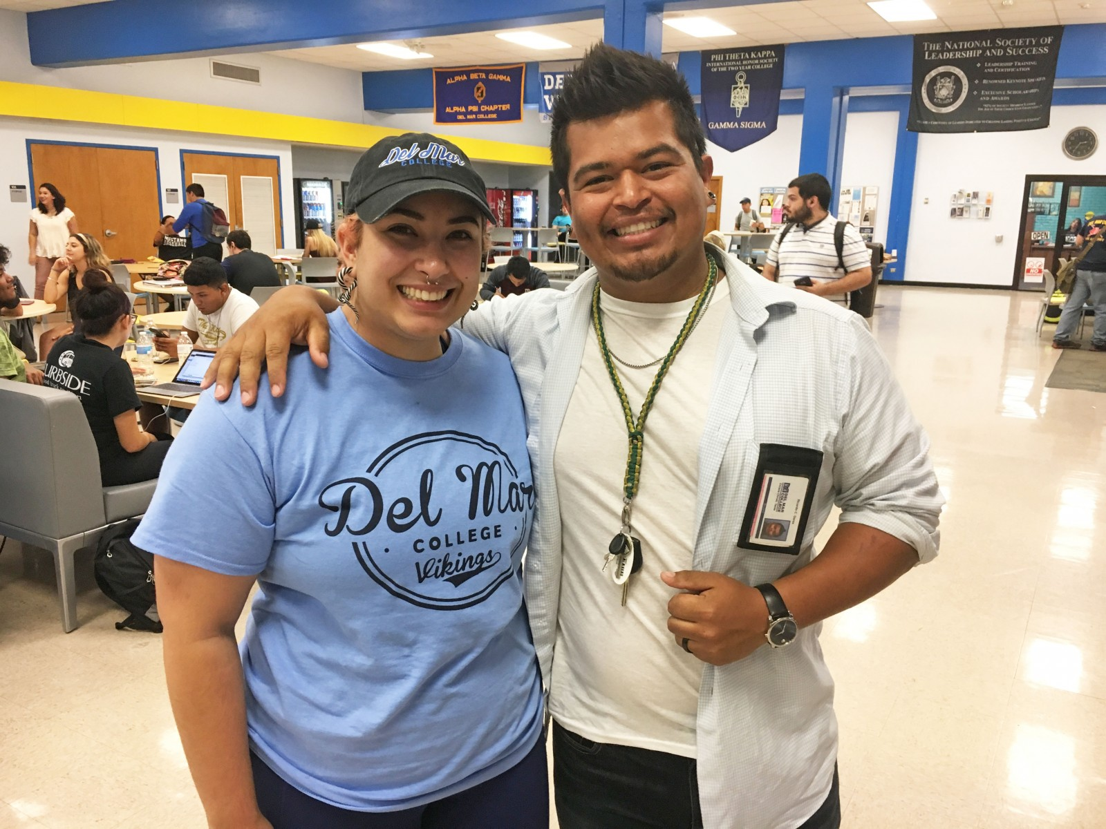 DMC Students Danielle and Ricardo Garza_Hurricane Harvey Assistance in Houston