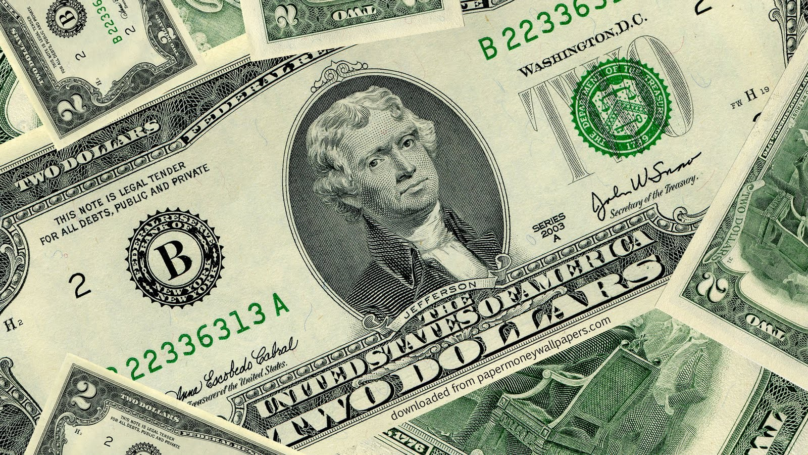 dollar bill full screen