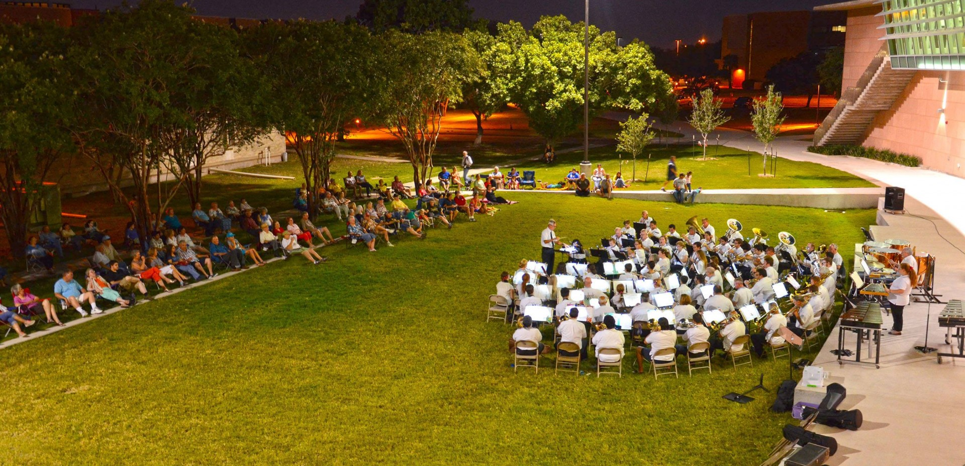 Municipal Band_DMC outdoor amphitheatre