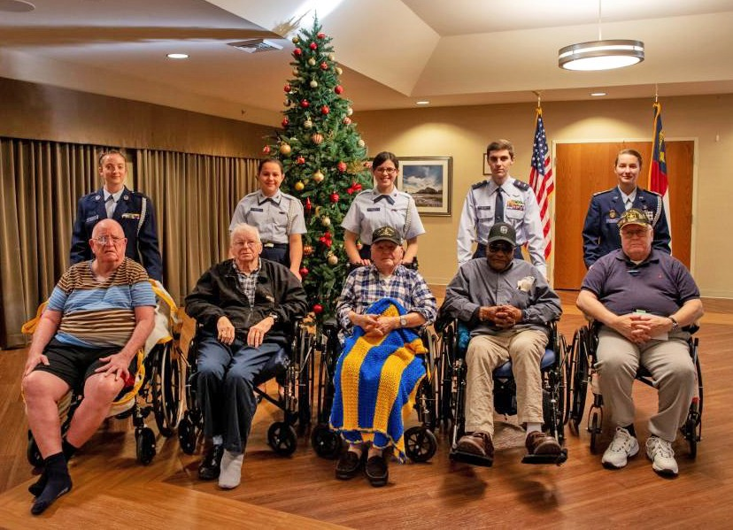 Veterans' visitors