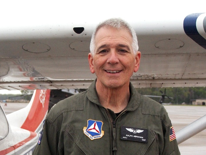 Congressman Pilots Post-Harvey Flights for CAP