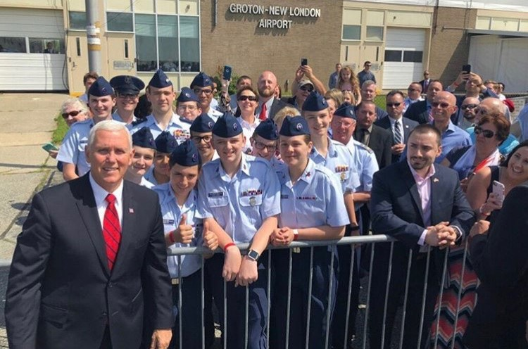 Pence and cadets