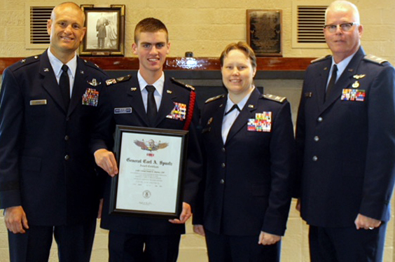 Honoring Cadet Stearns