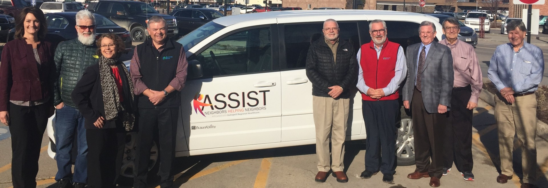 ASSIST's new van