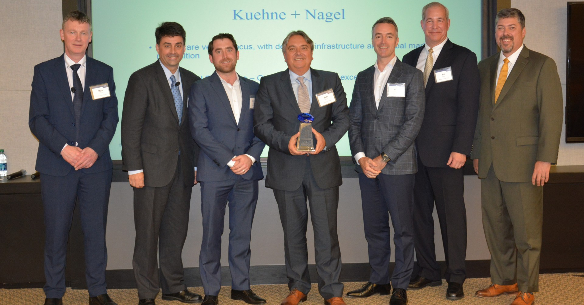 Kuehne + Nagel awarded 2018 Global Supplier Achievement Award from Boston Scientific
