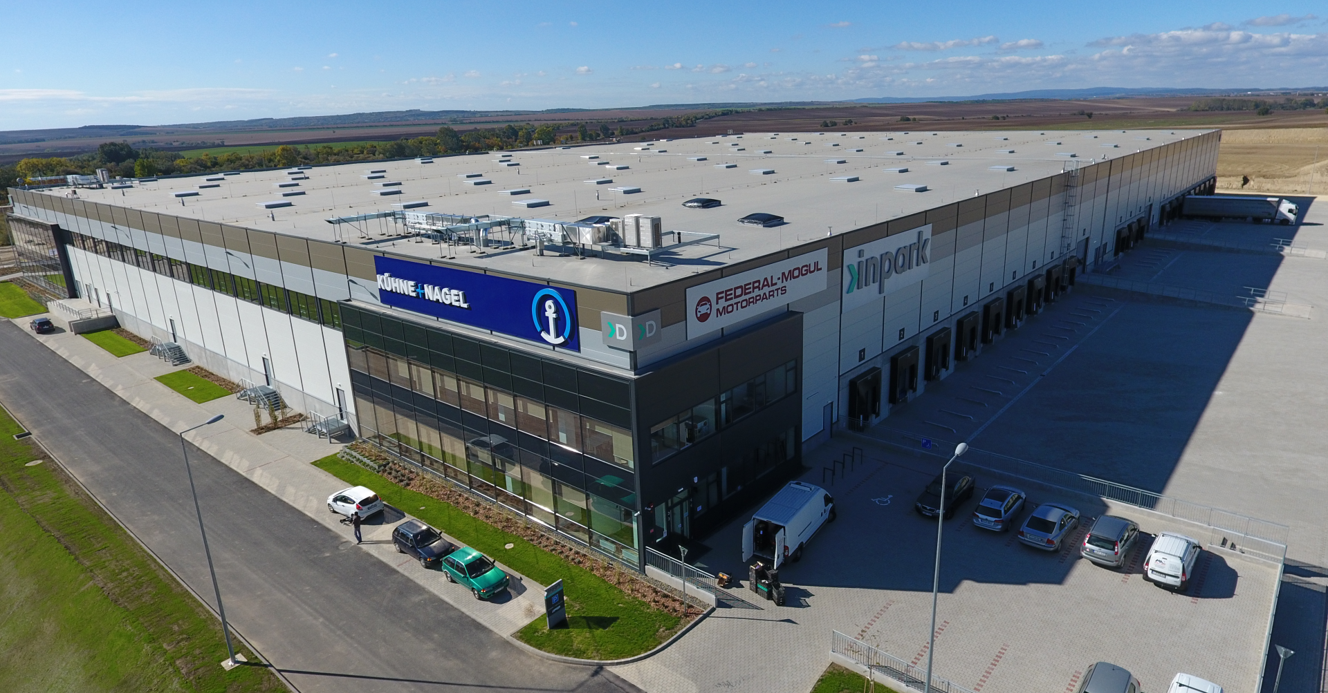Federal-Mogul Motorparts distribution center near Budapest, Hungary