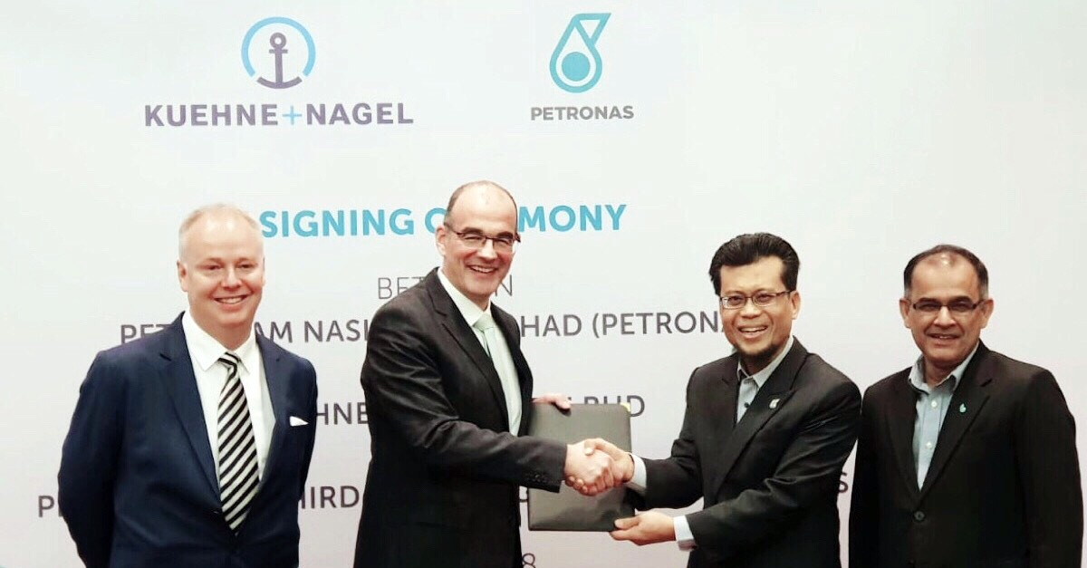 Kuehne + Nagel selected as PETRONAS' end-to-end logistics partner
