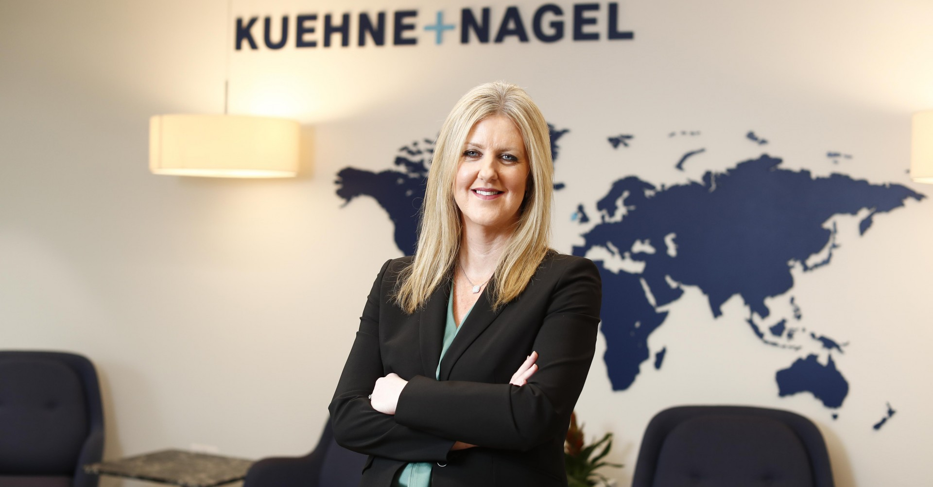 Pamela Quinn, National Manager Kuehne + Nagel Ireland