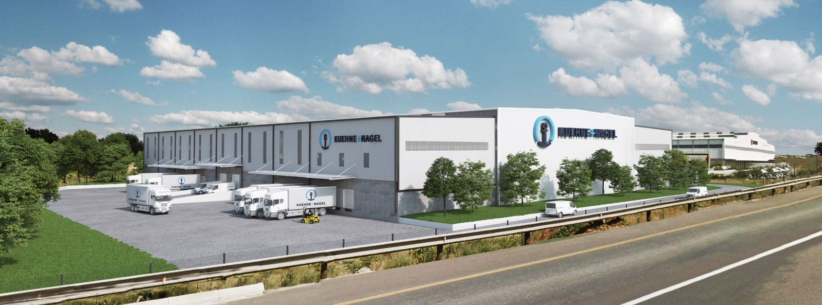 Kuehne + Nagel South Africa signed the contract for a 12.000 sqm build-to-suit facility in Johannesburg, South Africa