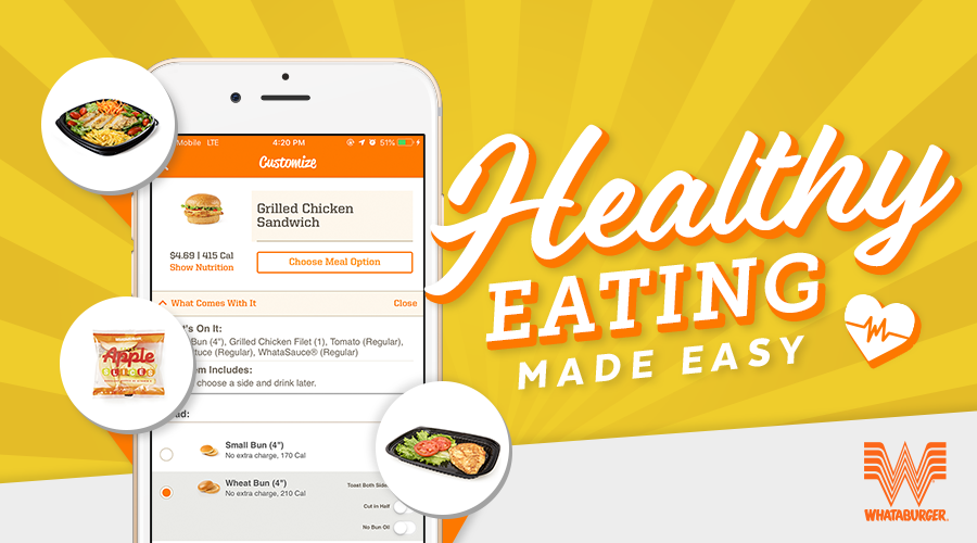 Healthy Ordering Banner