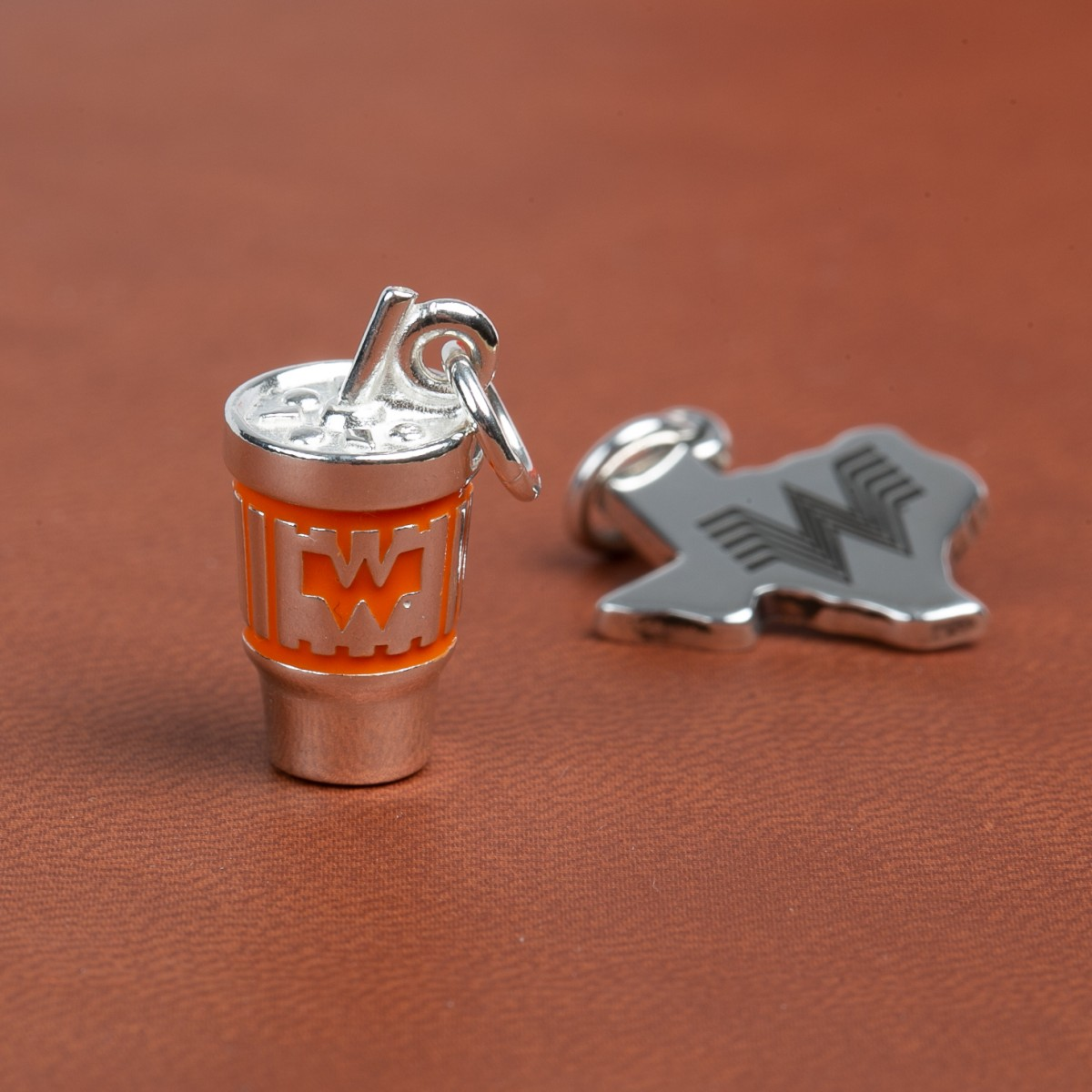 Whataburger-James Avery Cup Charm