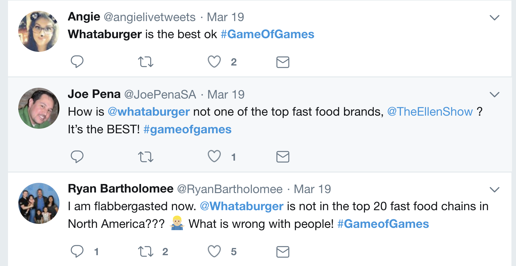 Game of Games Twitter Reaction