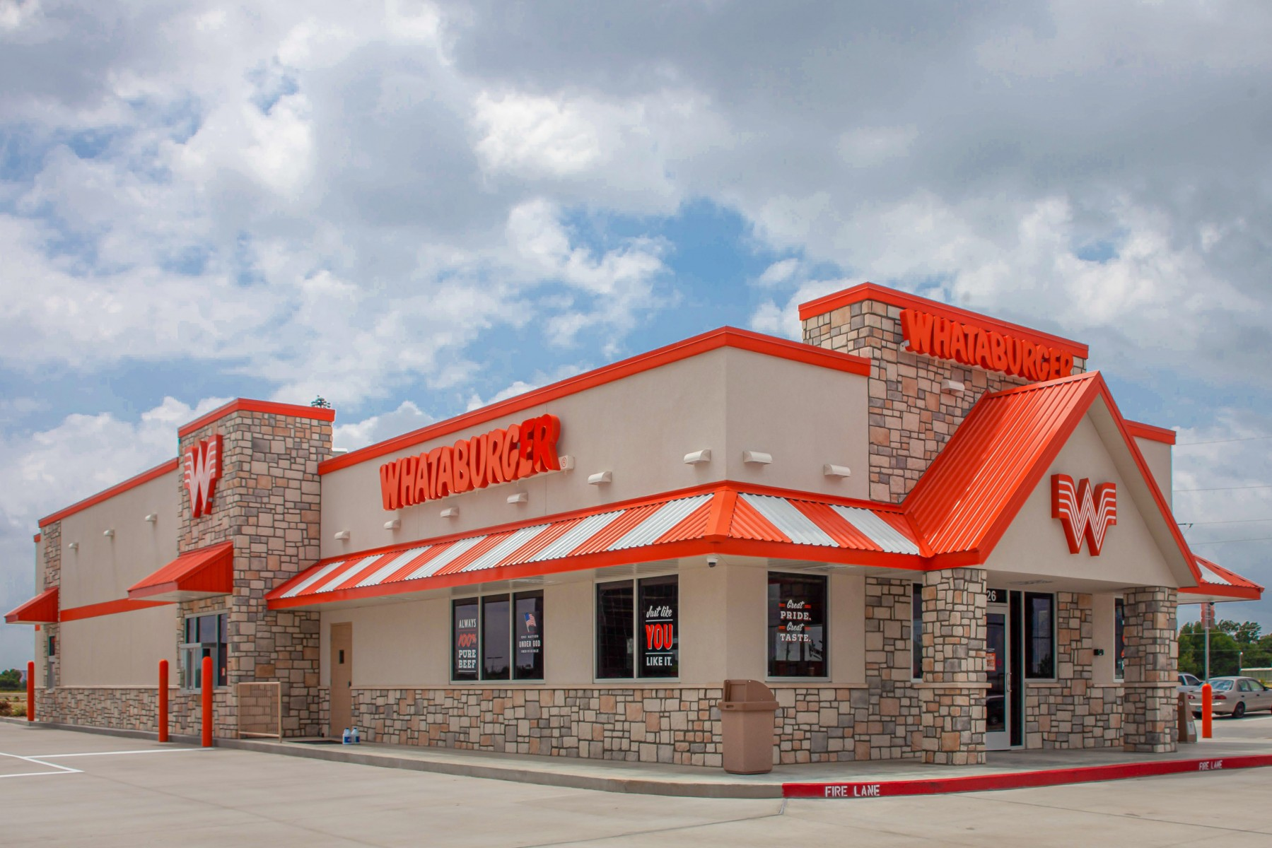 Whataburger Returns Better than Ever after Devastating Storm