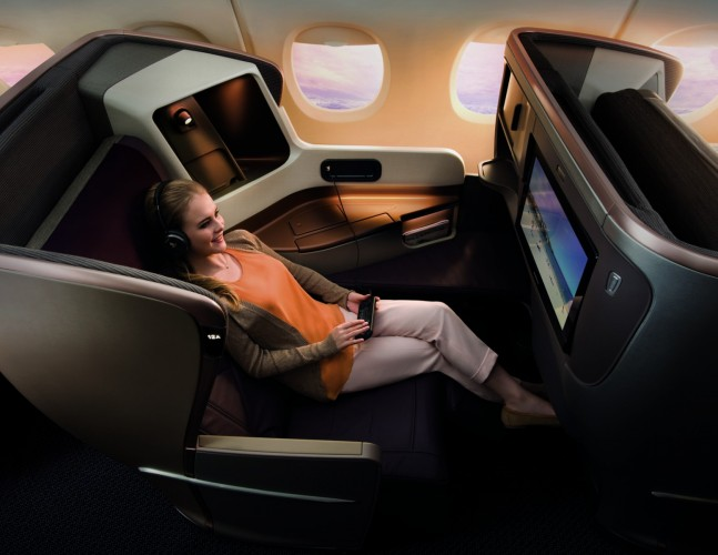 Singapore+Airlines%26%23039%3B+A350+Business+Class