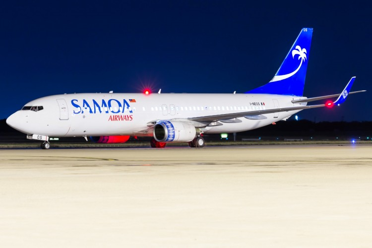 Samoa+Airways+Boeing+737-800