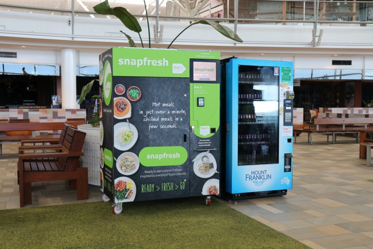 snapfresh vending machine