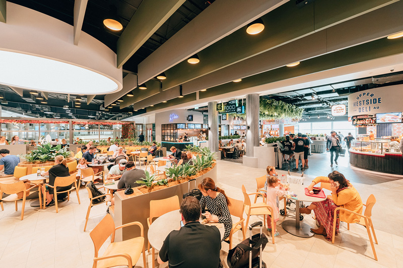 Brisbane-Airport's-new-Domestic-Terminal-Food-Collective-Cafe-Court-d