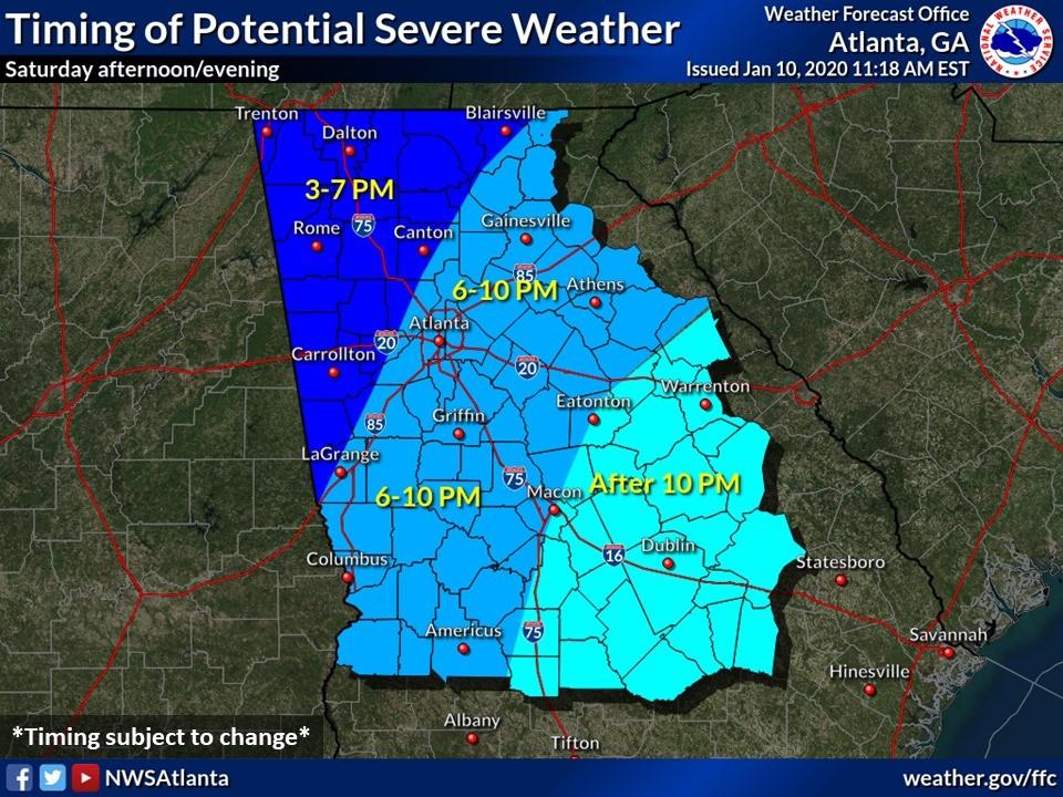 Jackson Emc Power Outage Map Jackson EMC Preparing for Potential Storms