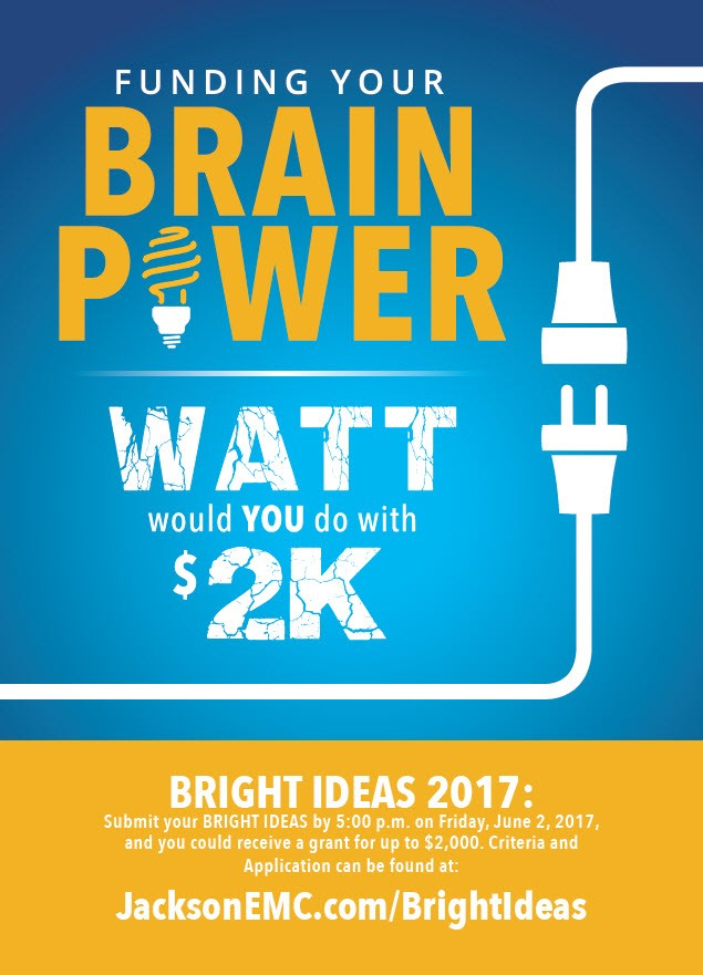 Bright Ideas 2017 (postcard)