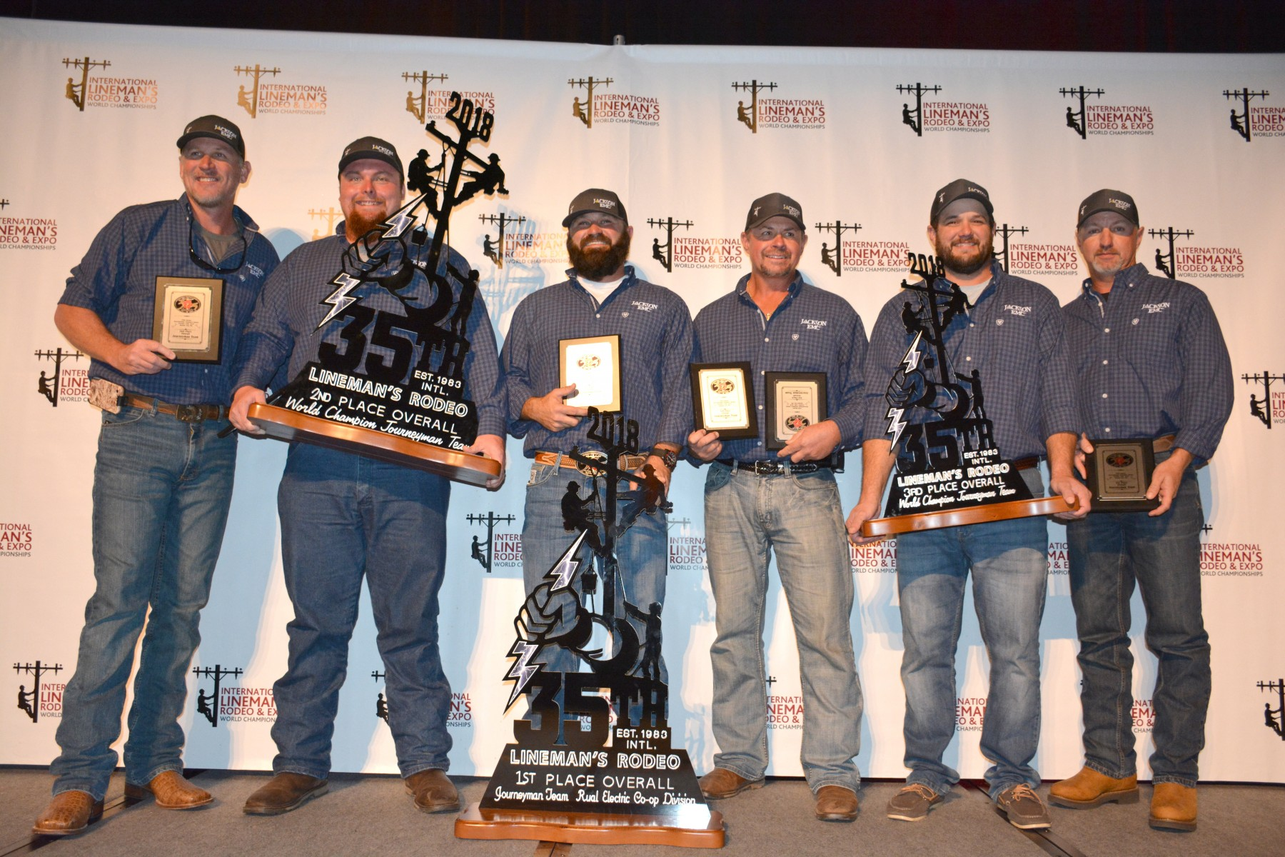 Intl Lineman's Rodeo Final Winners 2018