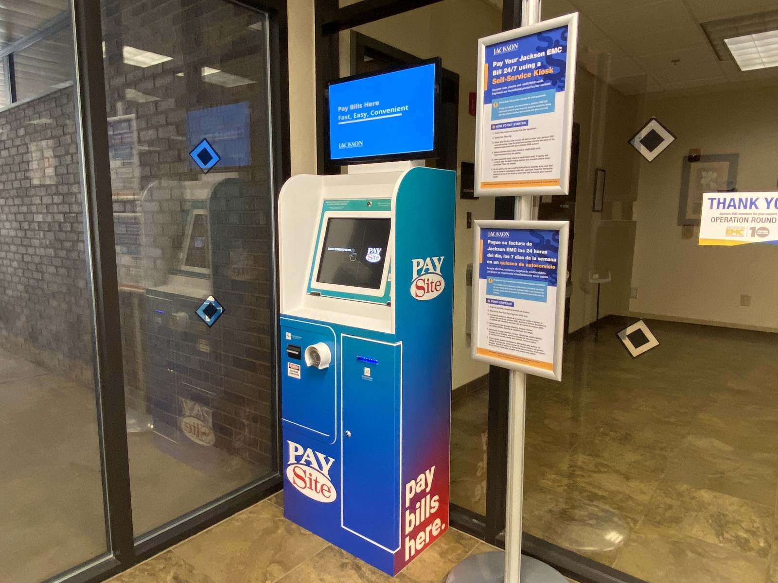 PayKiosk for Social Announcement