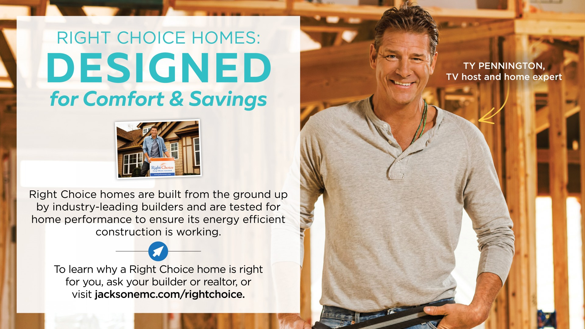 Right Choice Homes Ty Pennington
