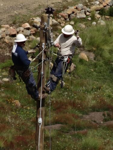Volunteer Linemen From Jackson Emc Bring Electricity To