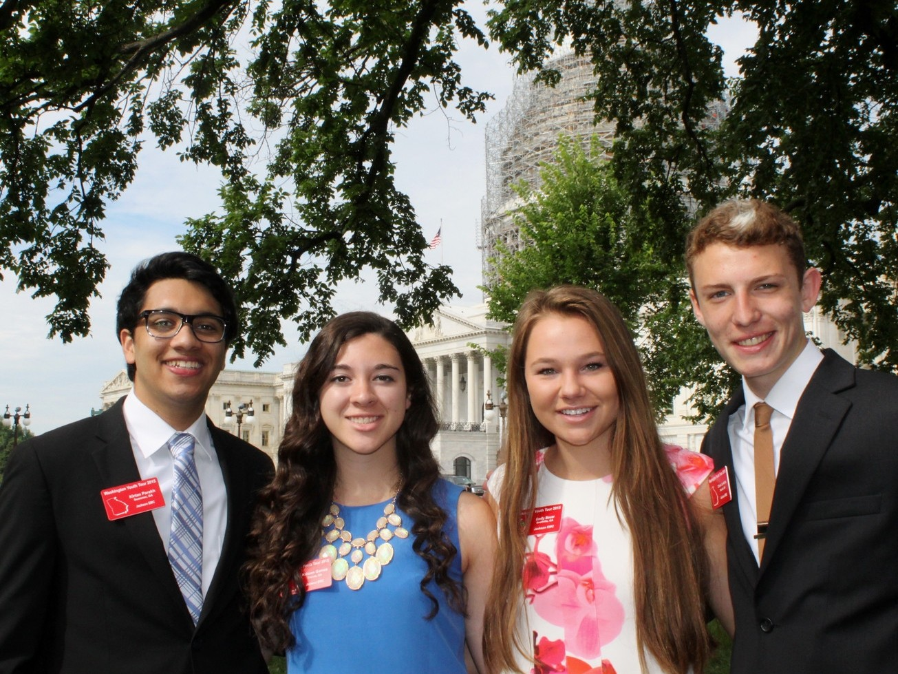 2015 Washington Youth Tour Delegates