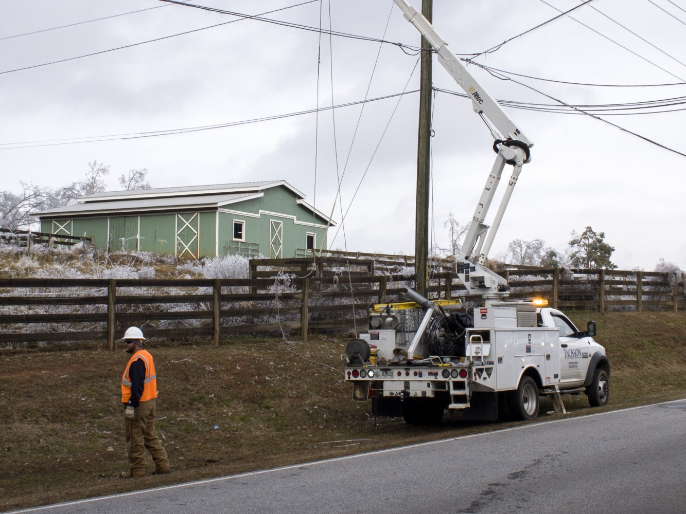 Move Over for Utility Workers