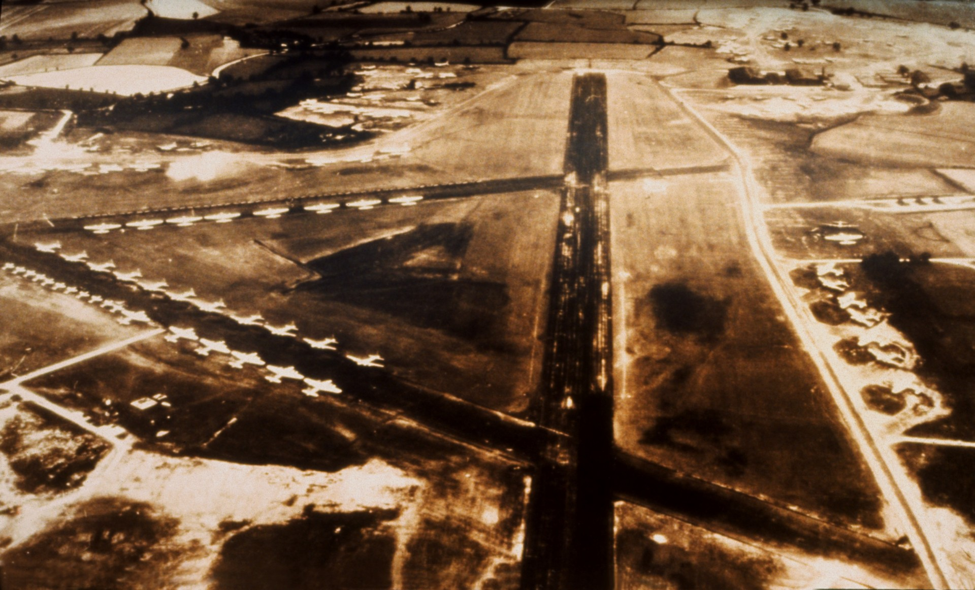 London Stansted began life as a American Airforce Second World War base in 1943.