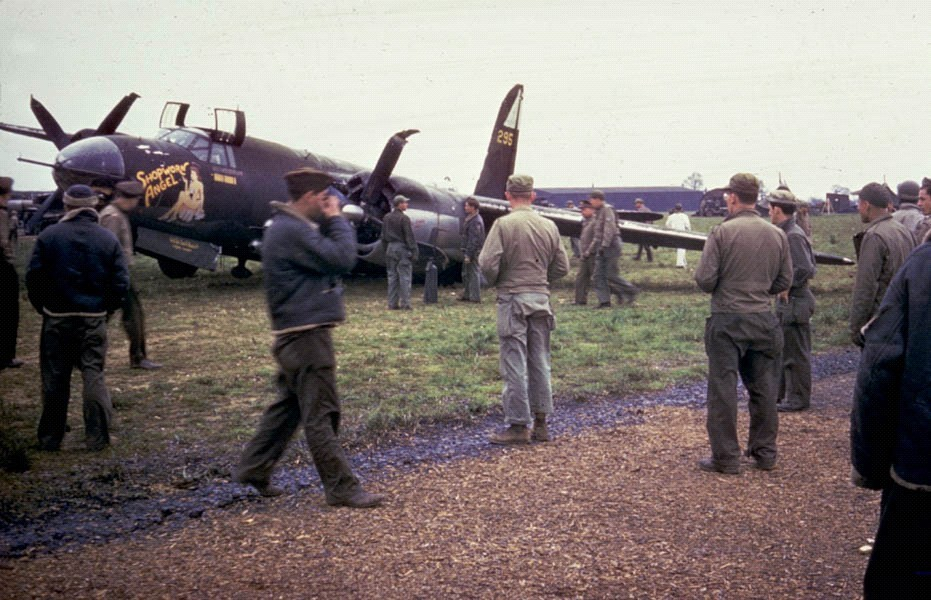 The airfield  was home to the USAAF Eighth Air Force.