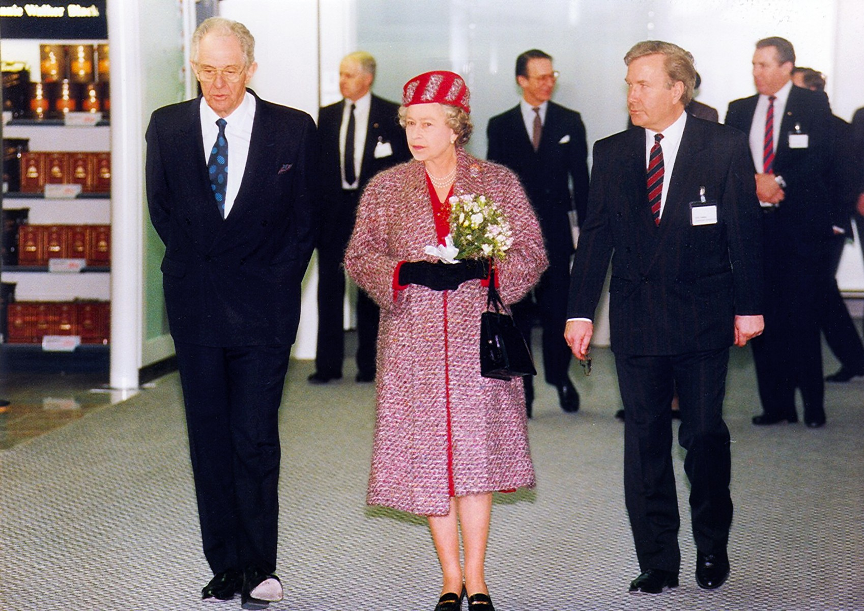 In 1991, The Queen opened the £400m new terminal, aprons and taxiways at Stansted, which increased the airport's capacity from two to eight million.