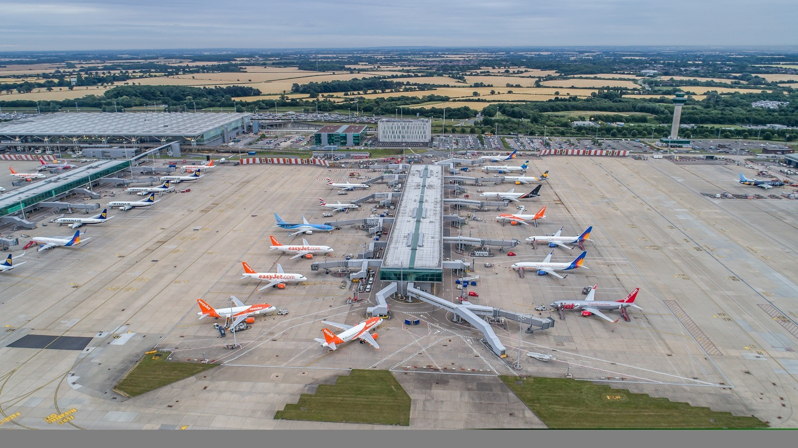 Today, Stansted employs 12,000 people and is one of the fastest growing airport's in Europe.