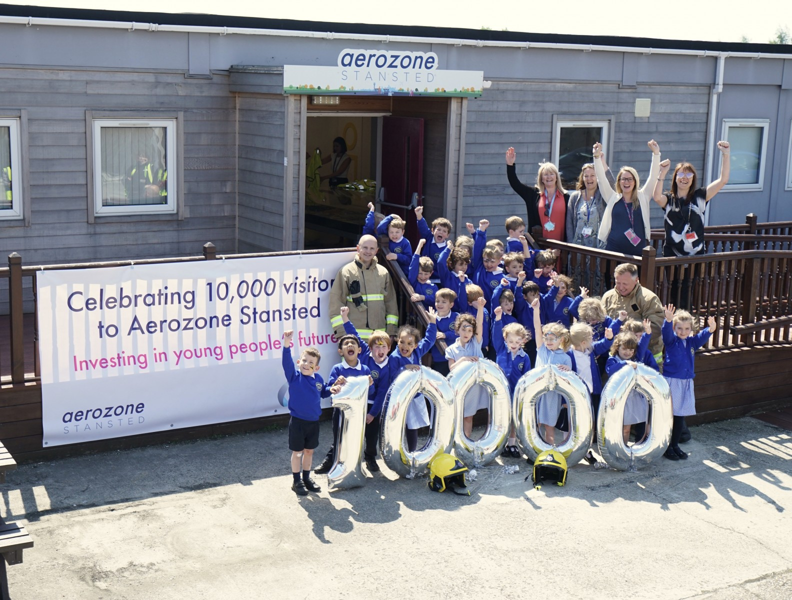 London Stansteds Flagship Education Centre Welcomes 10000th Visitor