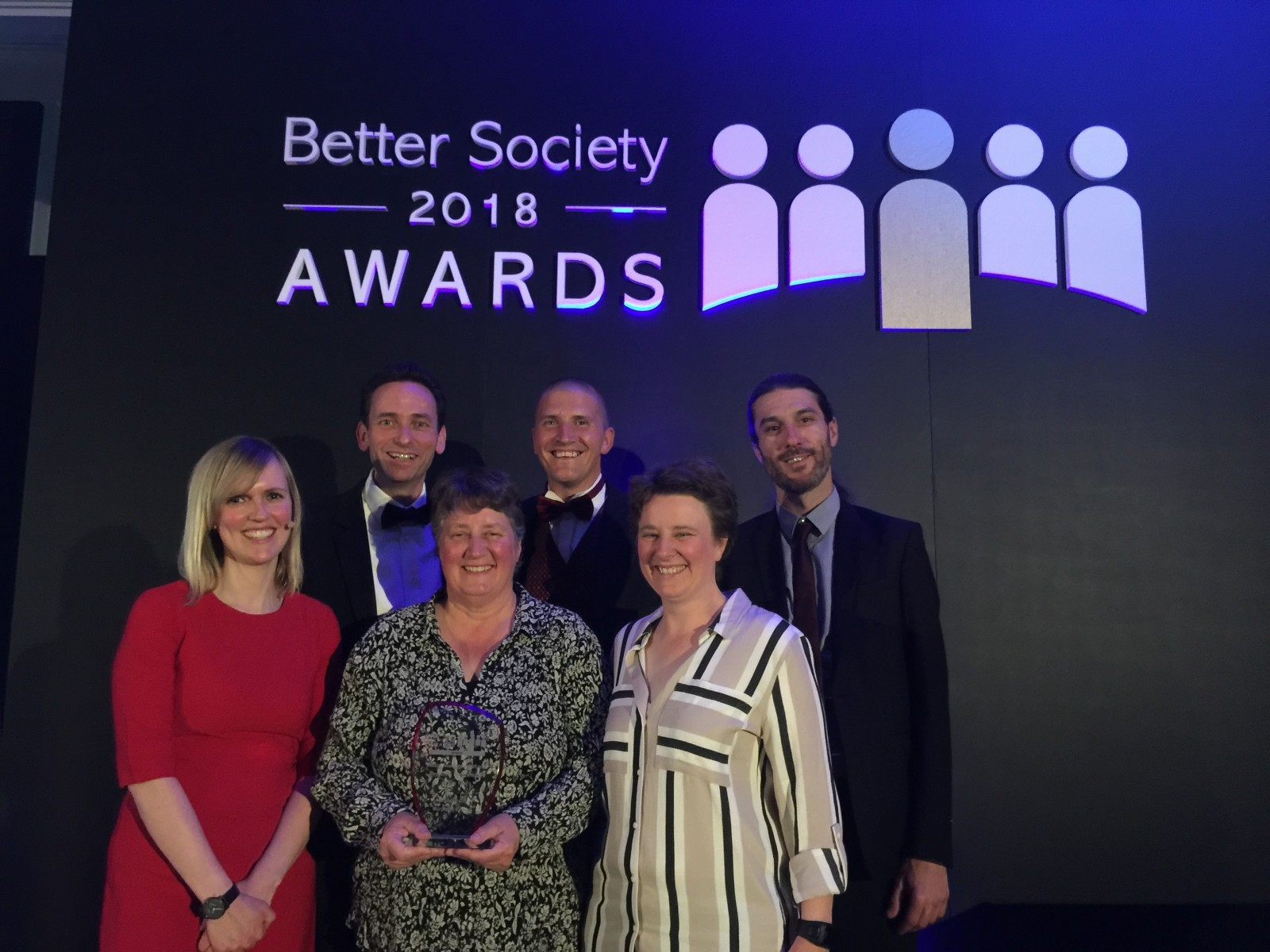 Better Society Stansted award 2