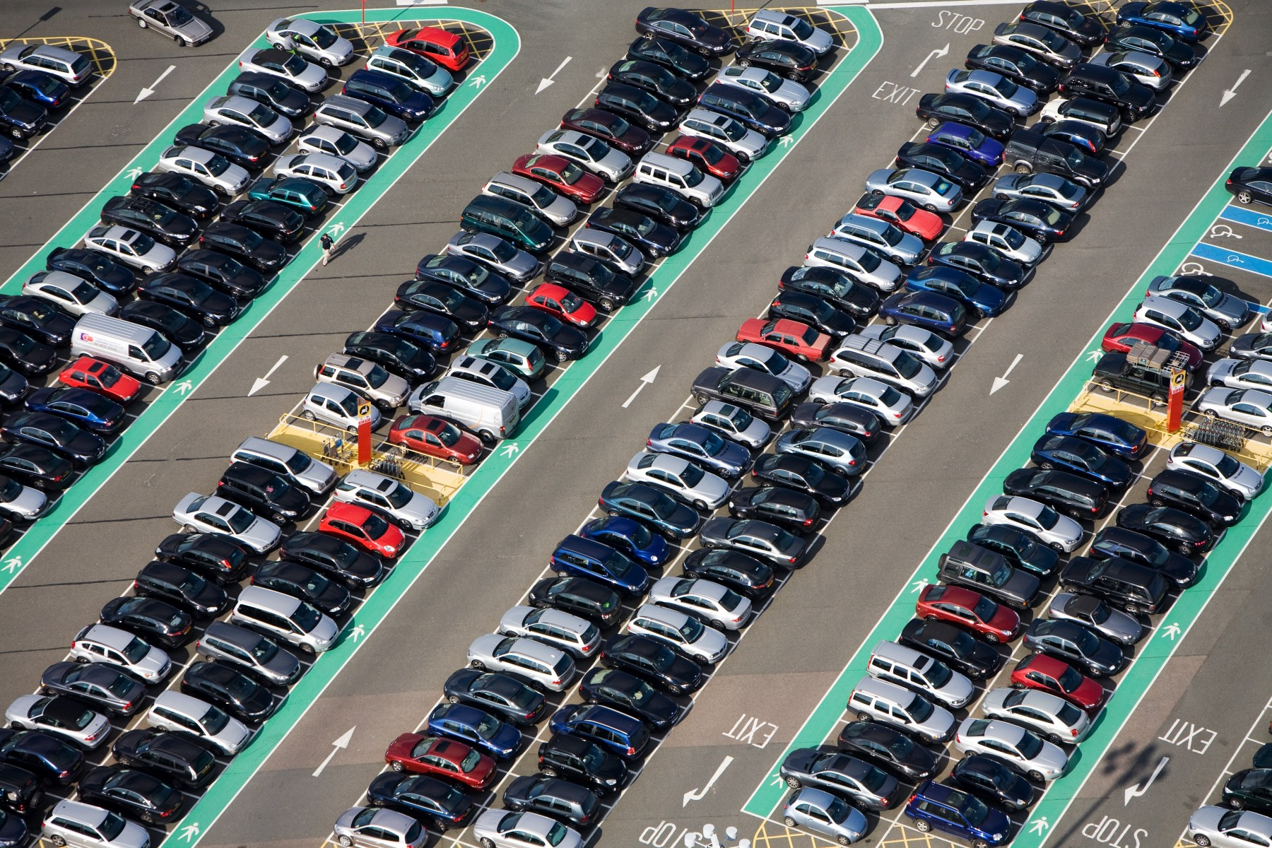 Airport Car Parks Win Safety Award